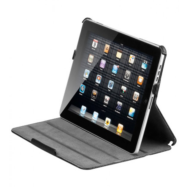 Custodia stand iPad 2 in carbonio
