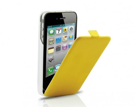 Custodia Gialla Ricaricabile Power bank iPhone 4 4s Classic