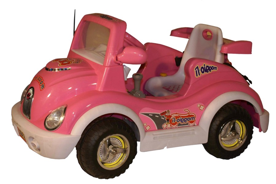 Maggiorì Pink Children's electric car with MP3